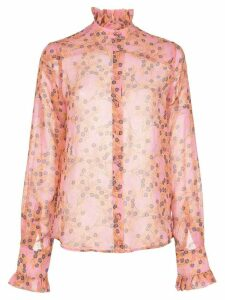 Alexis Indra long-sleeve top - PINK