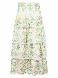 Alexis Aditya flared skirt - Green