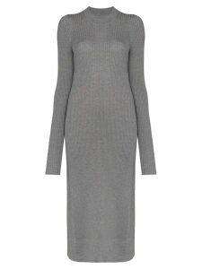 Maison Margiela ribbed-knit wool jumper - Grey