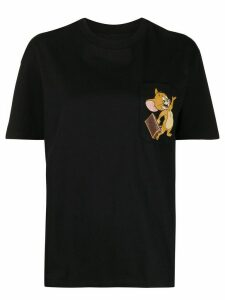 Etro x Tom and Jerry printed chest pocket T-shirt - Black