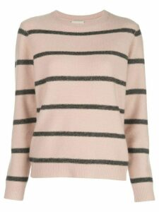 Le Kasha Toucques striped jumper - PINK
