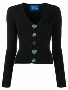 Simon Miller Nepa ribbed cardigan - Black