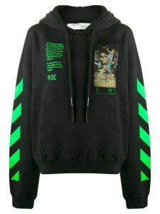 Off-White Pascal painting hoodie - Black