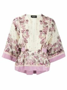 Dsquared2 floral print blouse - PINK
