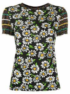 M Missoni daisy print T-shirt - Black