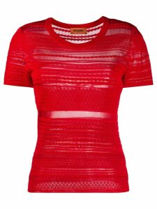 Missoni embroidered stripe T-shirt