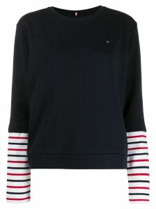Tommy Hilfiger layered effect T-shirt - Blue