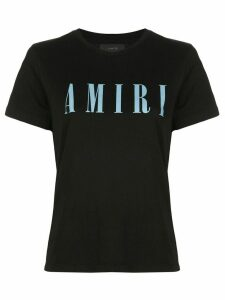 AMIRI boxy fit logo print T-shirt - Black