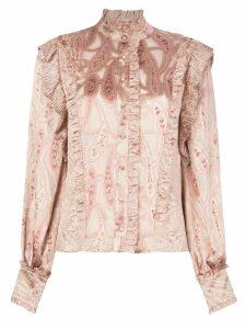 Alexis Eline paisley blouse - PINK