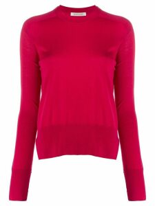 Boon The Shop fine knit round neck jumper - PINK