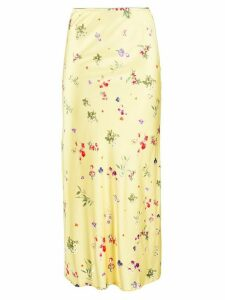 Andamane floral midi skirt - Yellow