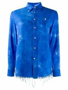 Polo Ralph Lauren tie dye print shirt - Blue