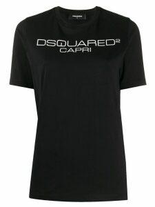 Dsquared2 logo printed T-shirt - Black