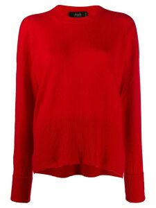 Maison Flaneur cashmere knitted jumper - Red