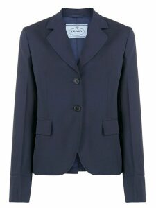 Prada single-breasted blazer - Blue