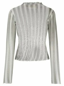1017 ALYX 9SM ribbed sheer top - Grey