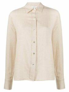 Vince buttoned long-sleeved shirt - NEUTRALS
