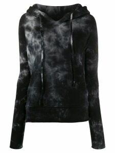 Nili Lotan tie dye hoodie - Black