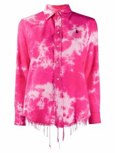 Polo Ralph Lauren tie dye print shirt - PINK