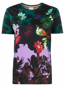 Paul Smith floral print short sleeve T-shirt - Blue