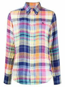 Polo Ralph Lauren check print shirt - Blue