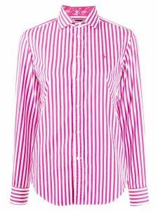 Polo Ralph Lauren stripe print shirt - PINK