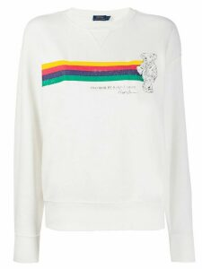 Polo Ralph Lauren Polo Bear print sweatshirt - White