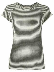 Nili Lotan stripe print T-shirt - Grey