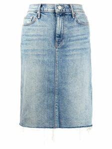 Mother high rise knee-length skirt - Blue