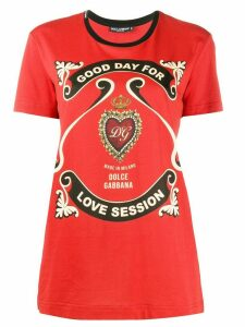 Dolce & Gabbana printed T-shirt - Red
