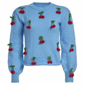 Lirika Matoshi - Cherries Knit Sweater
