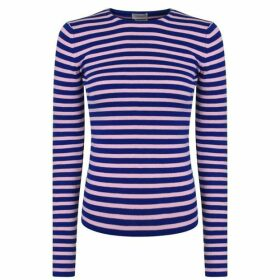 By Malene Birger Torris Striped Stretch Long Sleeve Top