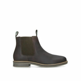 Barbour Farsely Chelsea - Brown Leather Chelsea Boots