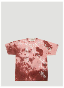 Ottolinger Exclusive Event Tie-Dye T-Shirt in Pink size L