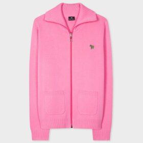 Women's Cotton-Alpaca Blend Sweater With Stripe Sleeves