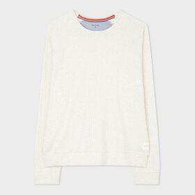 Women's Dusty Pink Two-Button Wool-Blend Twill Blazer