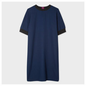 Women's Dark Navy Sweatshirt Dress