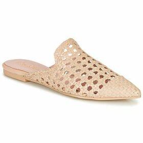 Pretty Ballerinas  COTON ROSATO  women's Mules / Casual Shoes in Beige