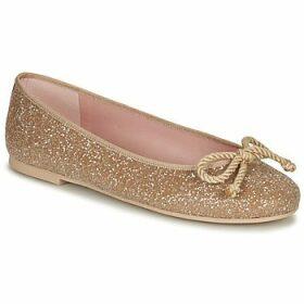 Pretty Ballerinas  BELLE SAND  women's Shoes (Pumps / Ballerinas) in Gold