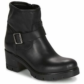 Sweet Lemon  ELITO  women's Low Ankle Boots in Black