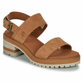 Timberland  Violet Mars 2 Band Sandal  women's Sandals in Brown