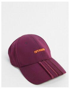 adidas x IVY PARK backless cap in maroon-Grey