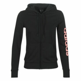 adidas  E LIN FZ HD  women's Sweatshirt in Black