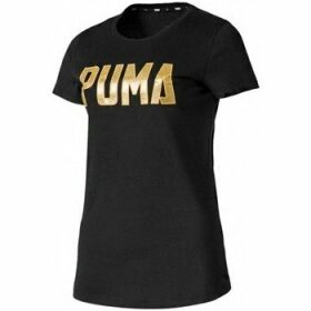 Puma  Athletics Tee  women's T shirt in multicolour