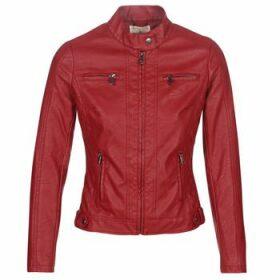 Moony Mood  -  women's Leather jacket in multicolour