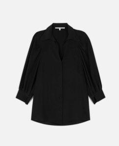Stella McCartney Black Reese Shirt, Women's, Size 16