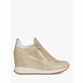 Geox Women's Nydame Zip Detail Trainers