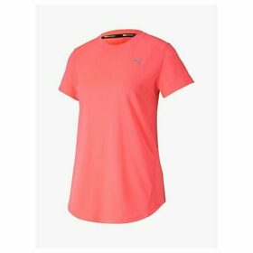 PUMA IGNITE Short Sleeve Training Top, Pink