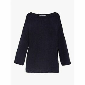 Gerard Darel Enrica Organic Cotton Jumper, Navy