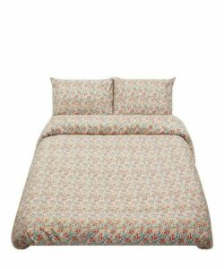 Poppy And Daisy Cotton Sateen Super King Duvet Cover Set